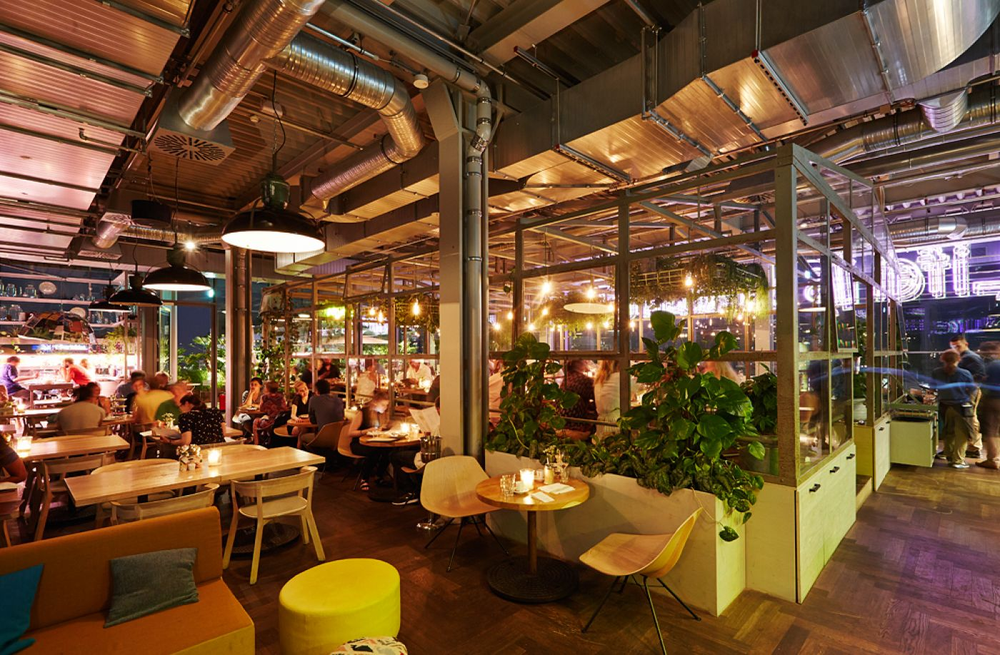 25hours hotel bikini berlin neni restaurant. Black Bedroom Furniture Sets. Home Design Ideas